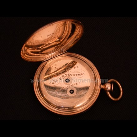 INSCRIBED CIVIL WAR POCKET WATCH
