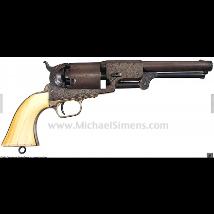 ENGRAVED COLT DRAGOON REVOLVER SEARCH
