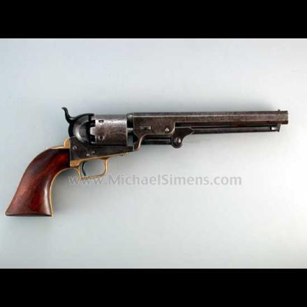 Colt 1851 First Model Squareback Navy.