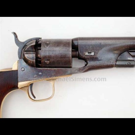COLT MODEL 1861 MARTIAL NAVY WITH FACTORY LETTER