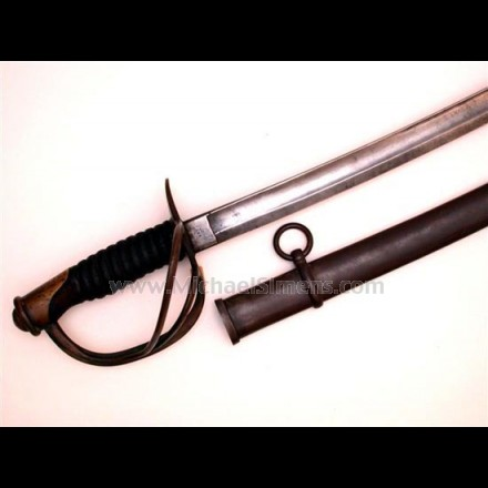 MILLARD CAVALRY SABER DATED 1863.